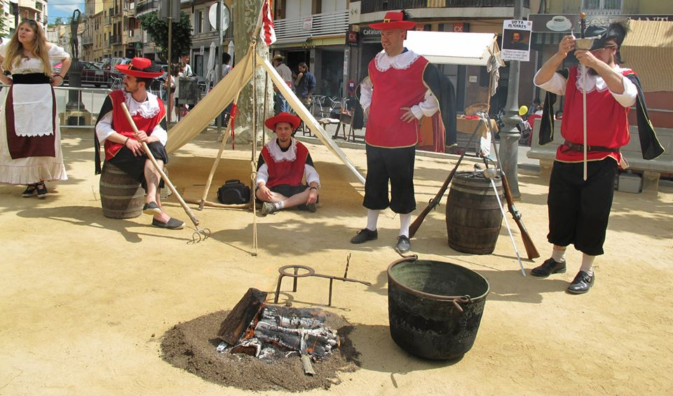 """Campament dels """"Tercios"""", Revolta '15"""
