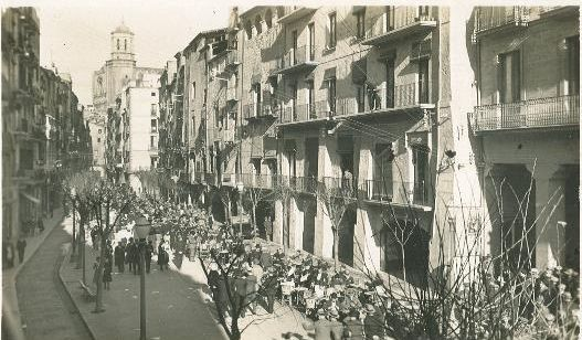 Plaça de les Cols Girona