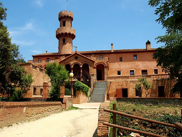 Castell de Fluvià, St. Esteve de Palautordera