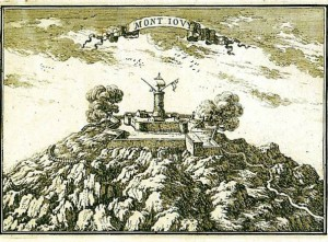 Fortí de Montjuïc, 1670